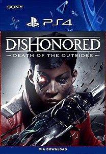 Dishonored Ps4 Death Of The Outsider Midia digital Português