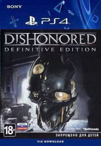 Dishonored Definitive Edition PS4 midia digital