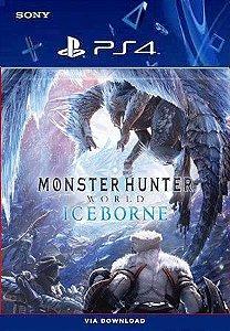 Monster Hunter World Iceborne - ps4 Mídia digital