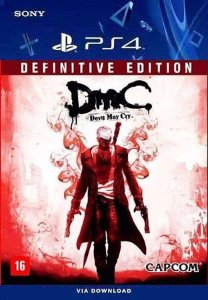 DmC Devil May Cry Definitive Edition PS4 Midia Digital