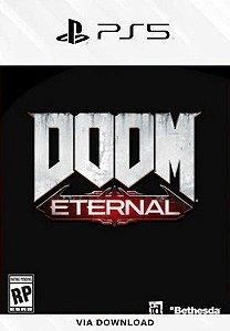 DOOM Eternal PS5 psn mídia digital