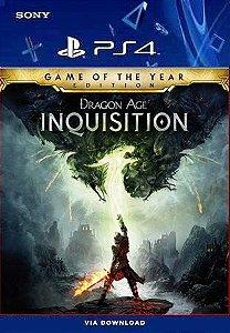 Dragon Age Inquisition Edição Jogo do Ano PS4 Midia Digital