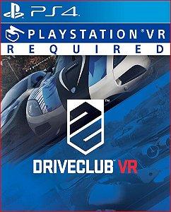 DRIVECLUB VR PS4 MÍDIA DIGITAL