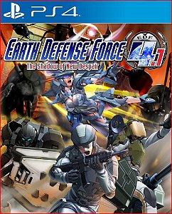 EARTH DEFENSE FORCE 4.1 THE SHADOW OF NEW DESPAIR PS4 MÍDIA DIGITAL