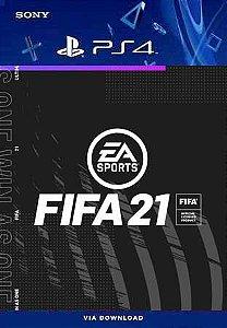 EA SPORTS FIFA 21 PS4 MIDIA DIGITAL PT-BR