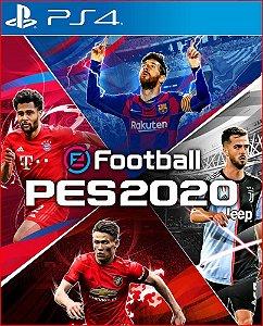 EFOOTBALL PES 2020 PS4 PORTUGUÊS MÍDIA DIGITAL
