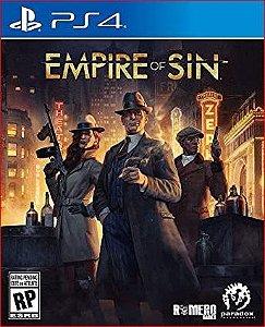 EMPIRE OF SIN PS4 MÍDIA DIGITAL