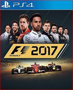 F1 2017 PS4 PORTUGUÊS MÍDIA DIGITAL