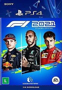 F1 2021 Standard Edition PS4 midia digital