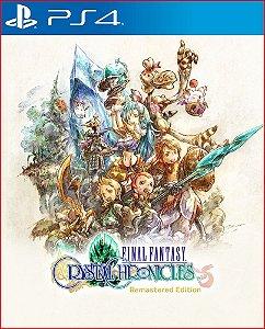 FINAL FANTASY CRYSTAL CHRONICLES REMASTERED EDITION PS4 MÍDIA DIGITAL