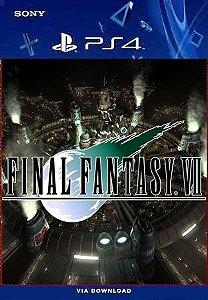 FINAL FANTASY VII REMAKE PS4 MIDIA DIGITAL