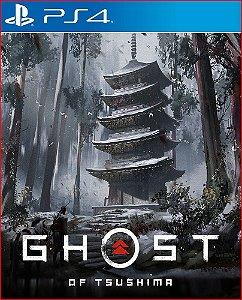 Ghost Of Tsushima PS4 Midia Digital