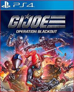 G.I. JOE OPERATION BLACKOUT PS4 MÍDIA DIGITAL