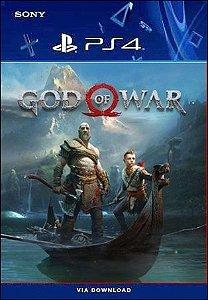 God Of War Ps4 Mídia Digital