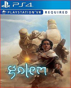 GOLEM VR PS4   MÍDIA DIGITAL PSN