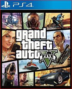 Grand Theft Auto V: Edição Premium ps4 mídia digital