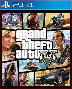 GTA 5 - Grand Theft Auto V PS4 Mídia Digital PortuguÊs