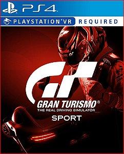 Gran Turismo Sport Ps4 midia digital