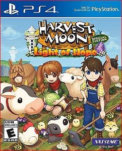 HARVEST MOON LIGHT OF HOPE SPECIAL EDITION PS4 MÍDIA DIGITAL