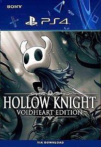 HOLLOW KNIGHT VOIDHEART EDITION PS4 PORTUGUÊS MÍDIA DIGITAL