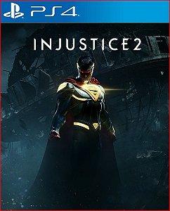 INJUSTICE 2 PS4 MÍDIA DIGITAL PROMOÇÃO