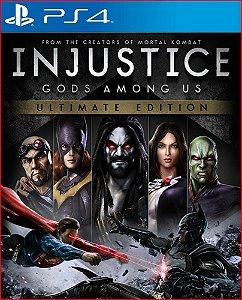 INJUSTICE GODS AMONG US ULTIMATE EDITION PS4 MÍDIA DIGITAL PSN