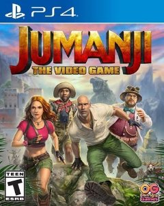 JUMANJI: O VIDEO GAME PS4 MÍDIA DIGITAL