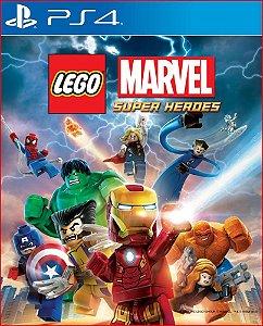 LEGO MARVEL SUPER HEROES PS4 PORTUGUÊS MÍDIA DIGITAL