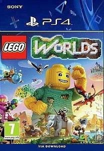 LEGO WORLDS PS4 MÍDIA DIGITAL