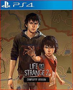 LIFE IS STRANGE 2 COMPLETE SEASON PS4 PORTUGUÊS MÍDIA DIGITAL