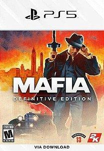 MAFIA DEFINITIVE EDITION PS5 MÍDIA DIGITAL
