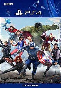 Marvel's Avengers PS4 PORTUGUÊS mídia digital