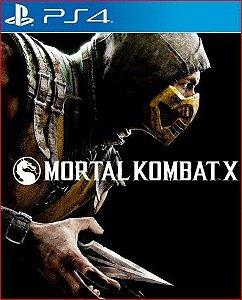MORTAL KOMBAT X PS4 MÍDIA DIGITAL