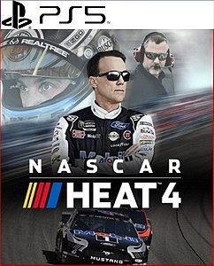 NASCAR HEAT 4 PS5 PSN MÍDIA DIGITAL