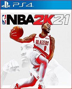 NBA 2K21 PS4 MÍDIA DIGITAL