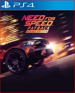 NEED FOR SPEED PAYBACK DELUXE EDITION PS4 MÍDIA DIGITAL