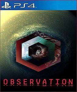 OBSERVATION PS4 E PS5 PSN MÍDIA DIGITAL
