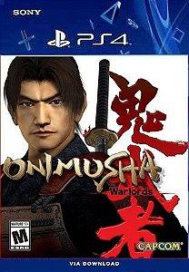 ONIMUSHA WARLORDS PS4 E PS5 PSN MÍDIA DIGITAL
