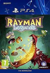 RAYMAN LEGENDS PS4 MÍDIA DIGITAL