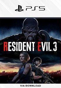 Resident Evil 3 PS5 psn Mídia Digital