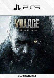 Resident Evil Village Ps5 psn Mídia Digital