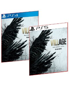 RESIDENT EVIL VILLAGE DELUXE EDITION PS4 E PS5 MÍDIA DIGITAL