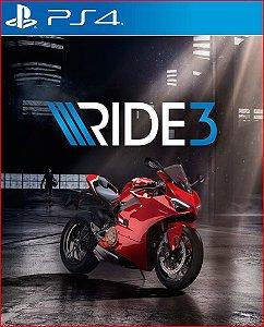 RIDE 3 PS4 MÍDIA DIGITAL