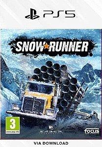 SNOWRUNNER PS5 PSN MÍDIA DIGITAL