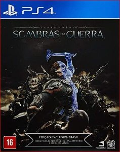 SOMBRAS DA GUERRA PS4 MÍDIA DIGITAL
