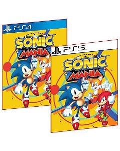 SONIC MANIA PS4 E PS5 MÍDIA DIGITAL
