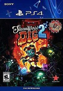 STEAMWORLD DIG 2 PS4 MIDIA DIGITAL