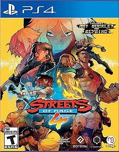 STREETS OF RAGE 4 PS4 MÍDIA DIGITAL