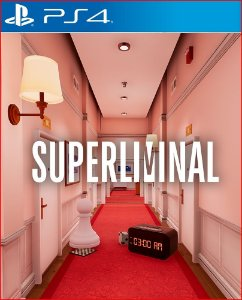 SUPERLIMINAL PS4 MÍDIA DIGITAL PROMOÇÃO