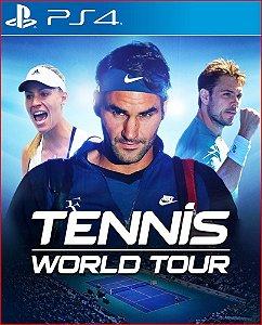 TENNIS WORLD TOUR PS4   PORTUGUÊS - MÍDIA DIGITAL PSN